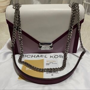 MICHAEL KORS MULTI COLOR CONVERTABLE BAG